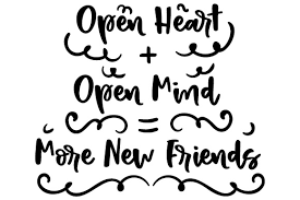 open heart more friends